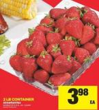 Strawberries - 2 Lb Container