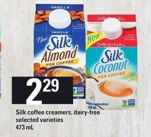 Silk Coffee Creamers - 473 mL