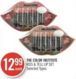The Color Institute Kiss & Tell Lip Set