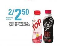 Yoplait Yop Protein 250 Ml - Yoplait Yop Smoothie 250 Ml