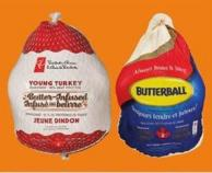 PC Frozen Turkeys Butter-infused Or Butterball Frozen Turkeys - 5-7 Kg