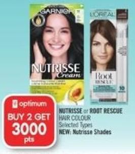 Nutrisse or Root Rescue Hair Colour