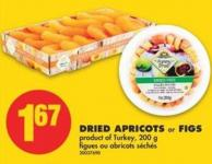 Dried Apricots or Figs - 200 g