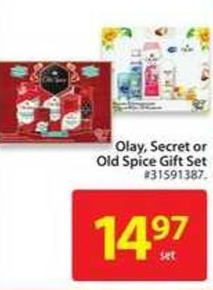 Olay - Secret or Old Spice Gift Set