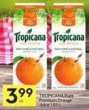 Tropicana Pure Premium Orange Juice 1.65 L