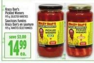 Krazy Dan's Pickled Wieners