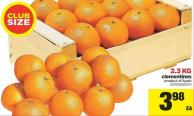 Clementines - 2.3 Kg