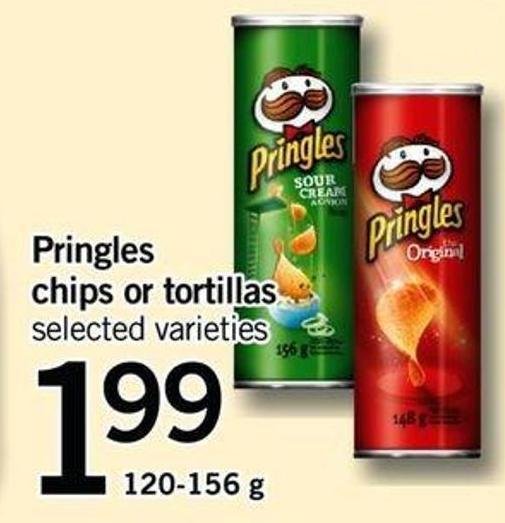 Pringles Chips Or Tortillas - 120-156 g