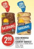 Casa Mendosa Tortillas (10's) - Country Harvest Bagels (6's) or Grains Bread (570g - 600g)