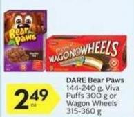 Dare Bear Paws- 10 Air Miles Bonus Miles