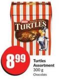 Turtles Assortment 300 g Chocolats