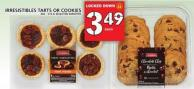 Irresistibles Tarts Or Cookies 360 - 510 G