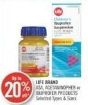 Life Brand Asa - Acetaminophen or Ibuprofen Products