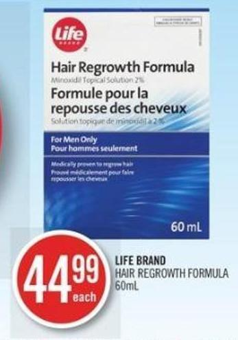 Life Brand Hair Regrowth Formula
