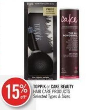 Toppik or Cake Beauty Hair Care Products