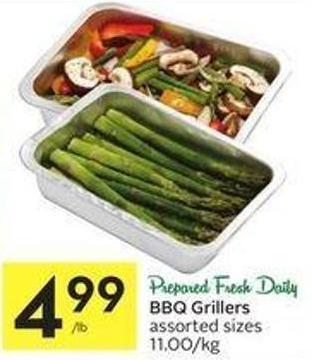 Bbq Grillers Assorted Sizes 11.00/kg