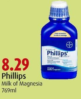 Phillips Milk of Magnesia 769ml
