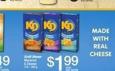 Kraft Dinner Macaroni & Cheese - 175 – 200 g