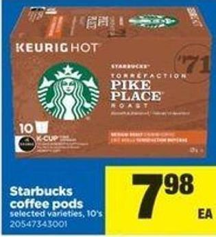 Starbucks Coffee PODS - 10's