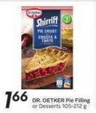Dr. Oetker Pie Filling