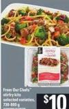 From Our Chefs Stirfry Kits - 730-800 g