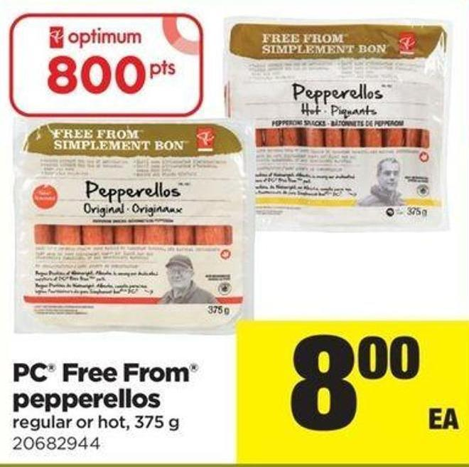 PC Free From Pepperellos - 375 G