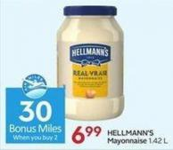 Hellmann's Mayonnaise 1.42 L- 30 Air Miles