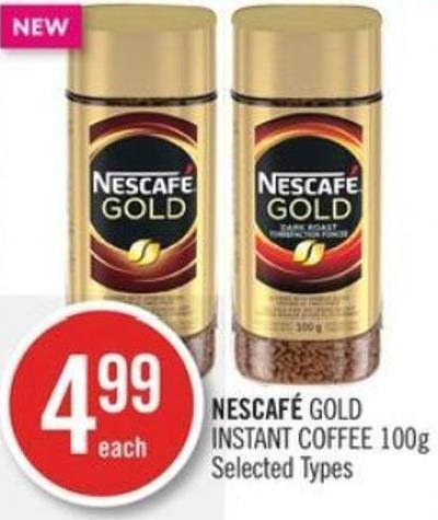 Nescafé Gold Instant Coffee
