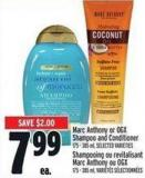Marc Anthony Or Ogx Shampoo And Conditioner 175 - 385 ml
