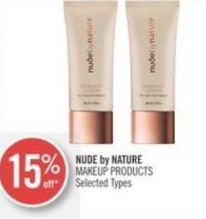 Nude By Nature Makeup Products