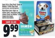 Iams Cat Or Dog Food - Cesar Or Kibbles 'N Bits Dog Food