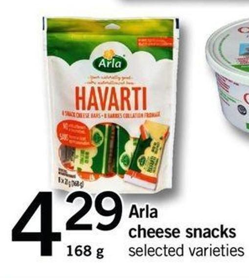 Arla Cheese Snacks - 168 G