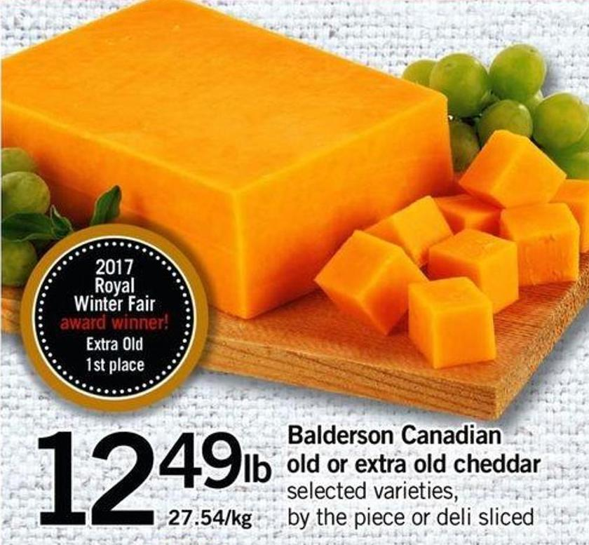Balderson Canadian Old Or Extra Old Cheddar