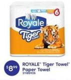 Royale Tiger Towel Paper Towel