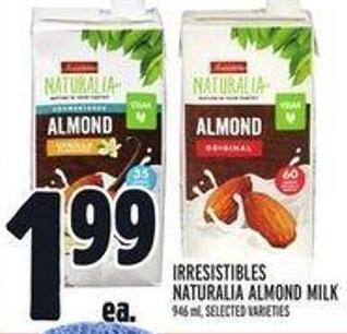 Irresistibles Naturalia Almond Milk
