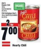 Amy's Organic Chili 398 ml