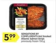 Sensations By Compliments Hot Smoked Atlantic Salmon Strips