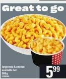 Large Mac & Cheese - 560 g