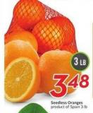 Seedless Oranges