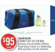 Calvin Klein Eternity Gift Set For Men