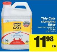Tidy Cats Clumping Litter - 3.86 Kg