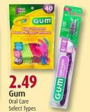 Gum Oral Care Select Types