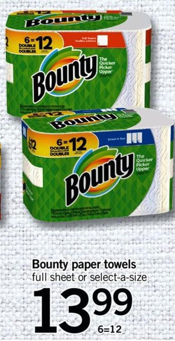 Bounty Paper Towels - 6=12
