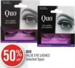 Quo False Eye Lashes