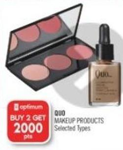 Quo Makeup Products