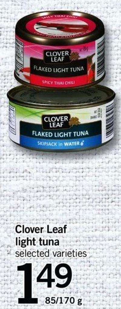 Clover Leaf Light Tuna