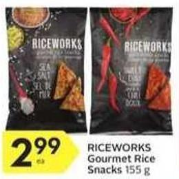 Riceworks Gourmet Rice Snacks