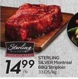 Sterling Silver Montreal Bbq Striploin