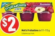 Mott's Fruitsations 6x111-113 g
