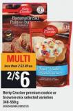 Betty Crocker Premium Cookie Or Brownie Mix - 348-550 g